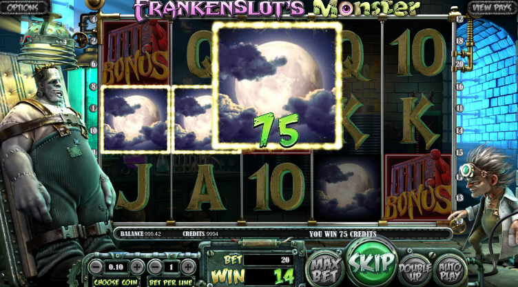Machine A Sous Betsoft Frankenslot